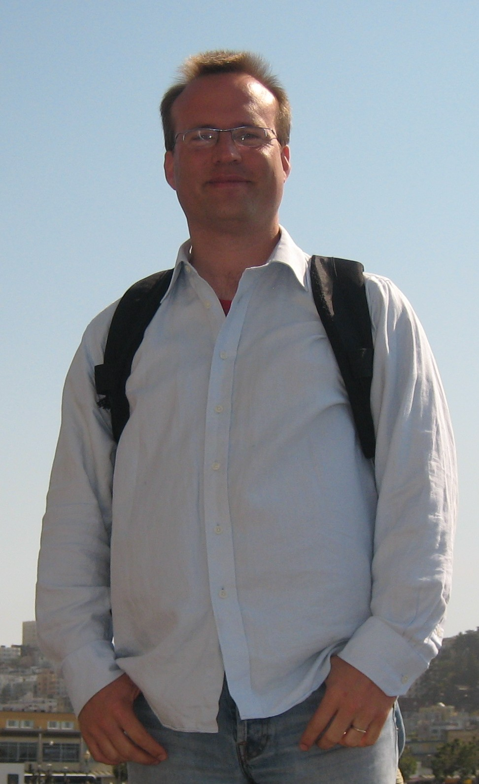 Photo of Prof Sven Schewe